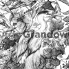 Wildlife illustration featuring various European birds – by Aga Grandowicz