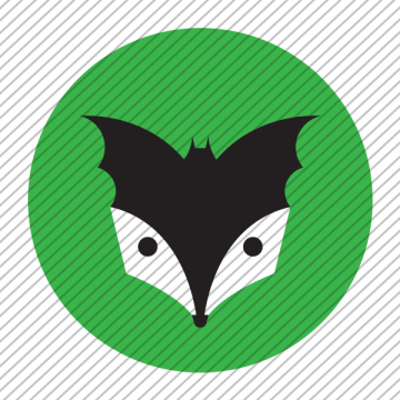 Predesigned animal logo – Bat and Badger