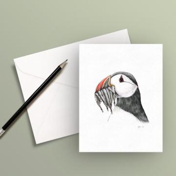 A6 CARD – Puffin, #2